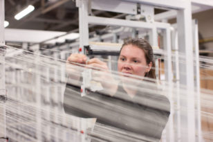 Pop-Up factory with the UK Fashion and Textile Association