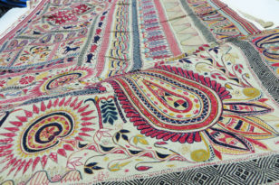 Kantha Stitch Embroidery