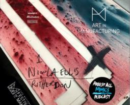 Podcast masterminds Arrest All Mimics meet Nicola Ellis