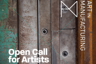 Call Out for Expressions of Interest from Artists for Season Three of Art in Manufacturing