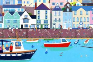 Chas Jacobs Watercolour Workshop @ BBC Radio Lancashire